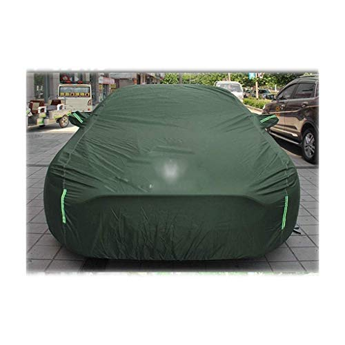 WSJ Compatibile con Maserati Levante Super Soft Car Body Protective Cover Esterno Single Layer Protection Tarpaulin Ultra Light Car Cover (Colore: Arancione), Verde.