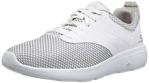 Skechers On The Go City 2 Textile Wanderschuh White/Gray