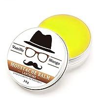 Moda 100% de la vida orgánica natural Styling Barba Cera Tonic bigote Bálsamo hidratante cera de abejas vainilla Mango perfumado Rone