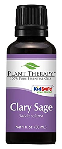 Clary Sage Essential Oil. 30 ml (1 oz). 100% Pure, Undiluted, Therapeutic Grade.