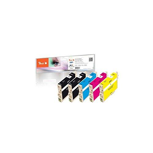 Preisvergleich Produktbild Peach Spar Pack Plus Tintenpatronen kompatibel zu Epson 2xT0611,T0612,T0613,T0614