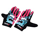 Prettyia Cycling Gloves Mountain Road Bike Bicycle Glove Silicone Gel Pad Riding Full