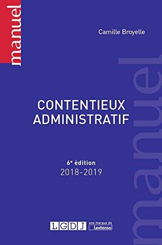 Contentieux administratif par Camille Broyelle