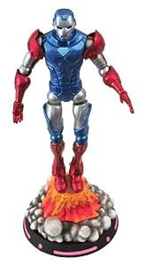 Desconocido Marvel Comics FEB142062 - Figura de acción Capitán América (Diamond Select Toys FEB142062) - Figura Iron Man como Capitán América (18cm)