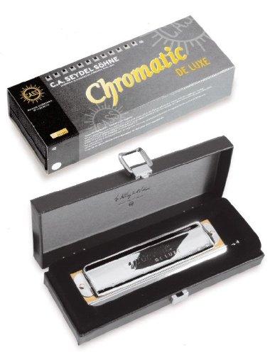 "C.A. Seydel Mundharmonika ""Chromatic De Luxe Classic"" C-Dur 48 Stimmen"