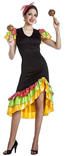 DISFRAZ RUMBERA TALLA M-L- (Kostüm Rumbera)