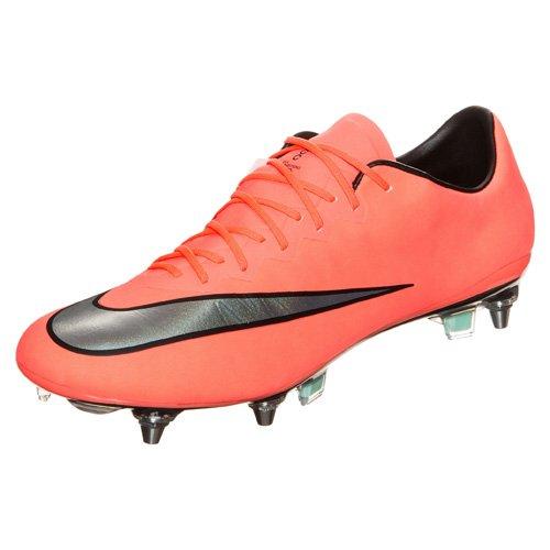 Nike Herren Mercurial Vapor X Sg-Pro Fußballschuhe Orange (Mehrfarbig)