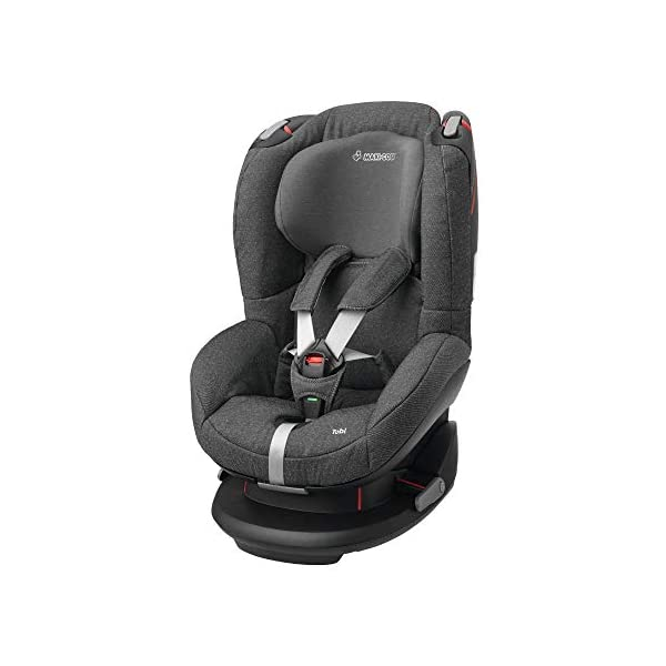 Maxi-Cosi Tobi Toddler Car Seat Group 1, Forward-Facing Reclining Car Seat, 9 Months-4 Years, 9-18 kg, Sparkling Grey Maxi-Cosi Toddler car seat suitable for children from 9 to 18 kg (approximately 9 months to 4 years) Install theMaxi-Cosi Tobi car seatusing the car's seat belt and the integrated belt tensioner ensures a solid fit Spring-loaded, stay open harness to make buckling up your toddler easier as the harness stays out of the way 1