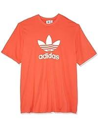 adidas Trefoil T Camiseta, Hombre, Rojo (rojbri), XS