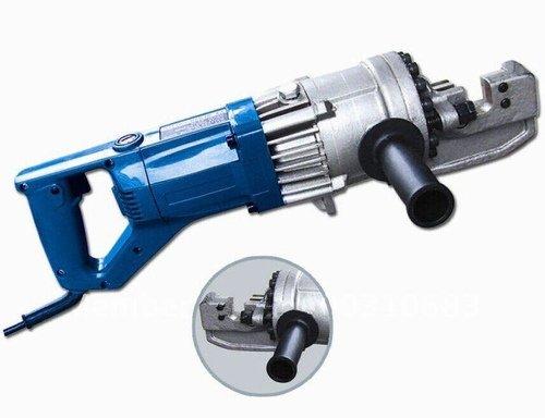 Gowe Outil de découpe de Construction hydraulique électrique est utilisé pour couper Construction defromed, tige de Construction sans Spark, gamme de bar rond en acier 4–20 mm