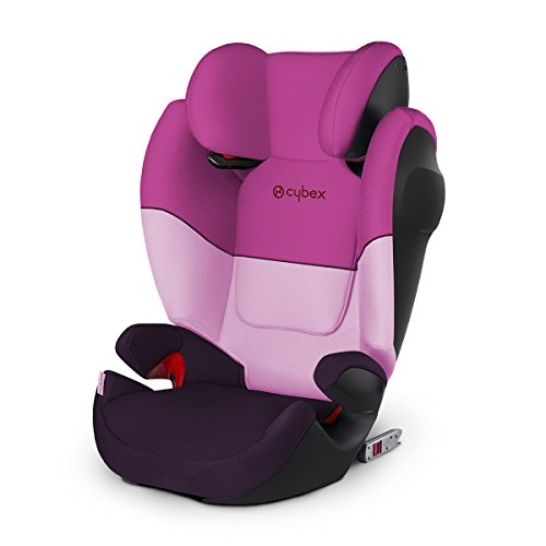 Cybex Silver Solution M-fix SL, Autositz Gruppe 2/3 (15-36 kg), mit Isofix, Purple Rain