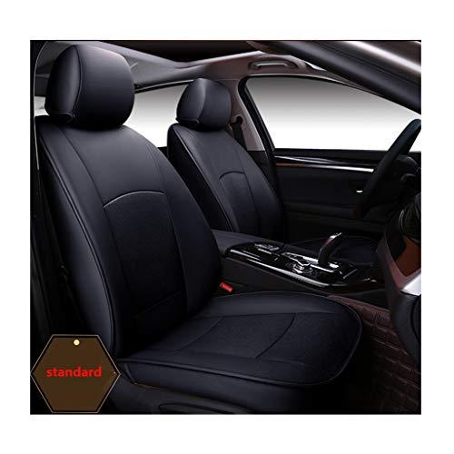 Tmpty Auto-Sitzbezüge Set Vorderer Und Hinterer 5-Sitzer-Komplettsatz 100% Rindsleder Schonbezüge 4 Jahreszeiten Universal Autositzbezug 10 Teiliges Set (Color : Red, Size : Luxury)