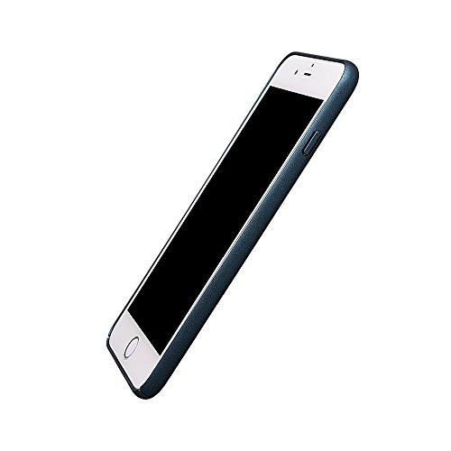 """xhorizon FM8 Drei-Stufen Plating Baby Haut Volleinschlag Schutz Stark Rücken Case Cover für iPhone 7 Plus [5.5""""] (Schwarz) Royal"""