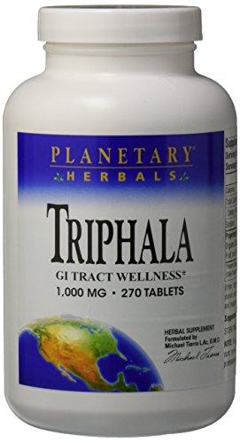 Planetary Herbals Triphala (1000mg) 270 tabs