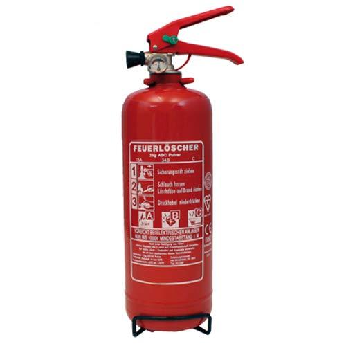 Göckler Auto-Feuerlöscher 2 kg Dauerdruck mit KFZ-Halter
