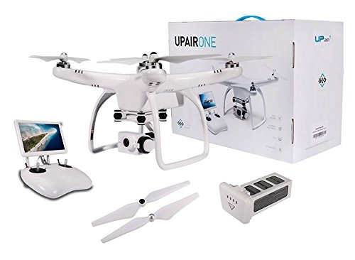 UPair One Quadrocopter GPS Drohne mit Videokamera 2.4G Fernsteuerung FPV live übertragung, Headless Modus,Höhenhaltung,Aerial Photography RTF 2.7K Version/4K Version (UPair One 2.7K Version)