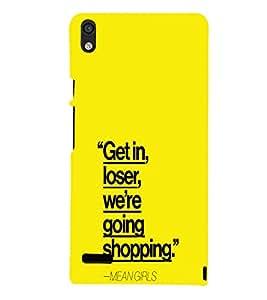 EPICCASE Meangirls Mobile Back Case Cover For Huawei Ascend P6 (Designer Case)