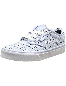 Vans - Atwood, Zapatillas Niñas, Azul (Flower/Light Blue), 31.5 EU
