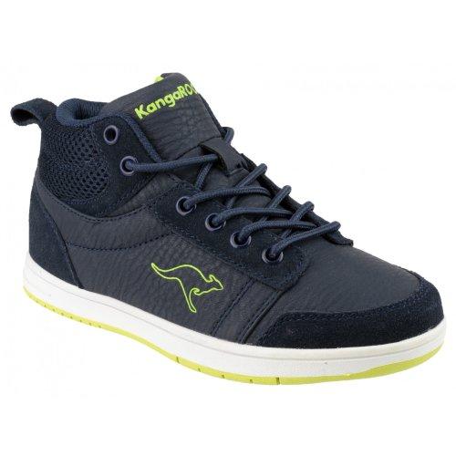 KangaRoos KR1131S Skye Jungen Turnschuhe / Sneakers Marineblau/Limette