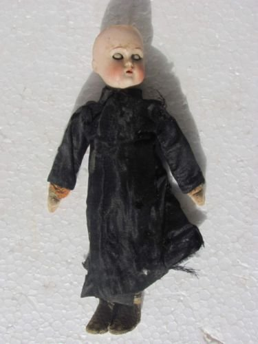 Early & Rare Porcelain Doll Toy