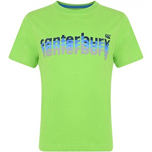 CANTERBURY CCC Uglies Tee–Kinder grün grün 140 (T-shirt-rugby Classic)