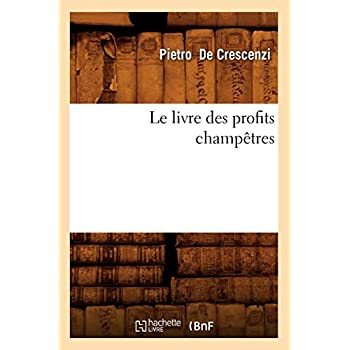 Le livre des profits champêtres