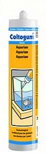 Coltogum 163242 Substance d'tanchit Aquarium Noir 310 ml