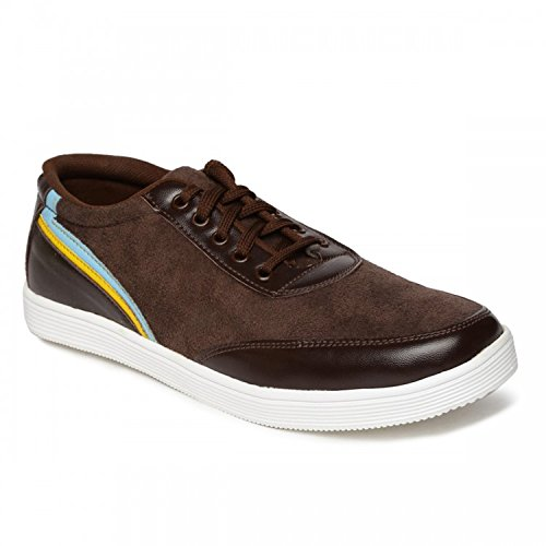 Paragon Men's Casual Shoe (6, Brown)