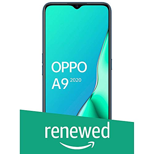(Renewed) OPPO A9 2020 (Marine Green, 8GB RAM, 128GB Storage) with No Cost EMI/Additional Exchange Offers