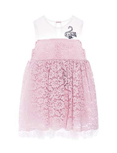 Kleine Mädchen Geburtstag Kleid (Zedde 1-6 Jahre Festliche Kinderkleider Party Geburtstag Hochzeit für Kleiner Mädchen Kinder Knielang)