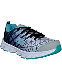 Allen Cooper ACSS-003 Grey Black Green Sports Running Shoes For Men