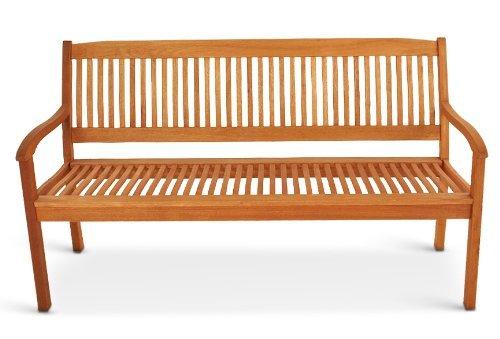 SAM® Gartenbank Maracaibo aus Akazienholz, FSC® 100% zertifiziert, 157 cm breit, 3-Sitzer Holzbank, geölt, Gartenmöbel aus Holz für Terrasse & Balkon - 2