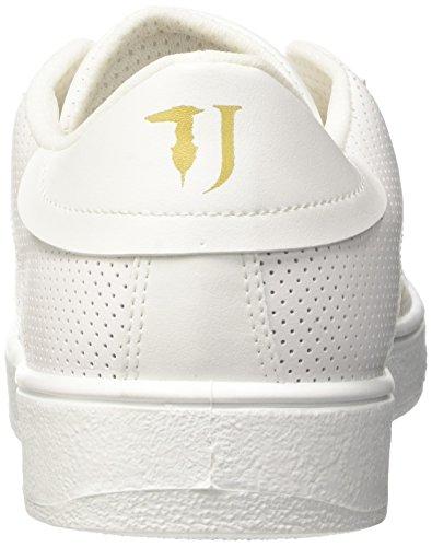 Trussardi Jeans 77S57153, Sneaker a Collo Basso Uomo Bianco