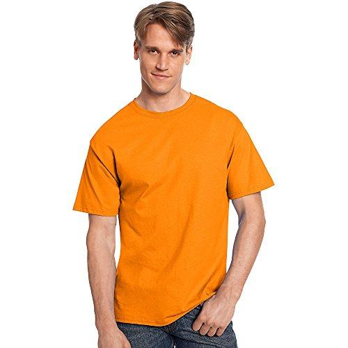Hanes Athletisches Shirt (By Tagless T-Shirt, Athletisch Orange, 5XL)