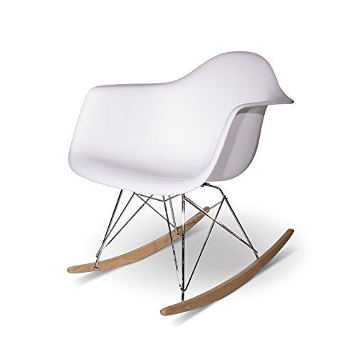 Aryana Schaukelstuhl Home Replica Eames Blanca -