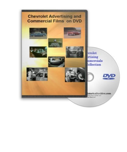 Chevrolet Advertising Commercials and Films on DVD - Great Vintage Chevy Models and Their Ad Campaigns