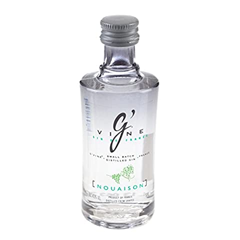 G'Vine Nouaison Small Batch French Distilled Gin 5cl Miniature