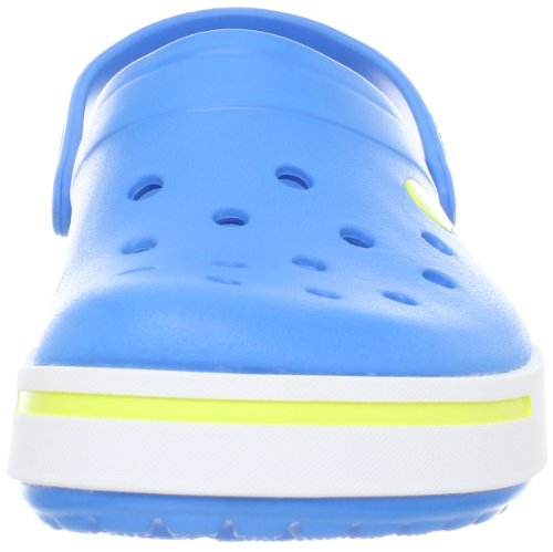Crocs, Crocband II, Zoccoli e sabot,Uomo (Ocean/Citrus)