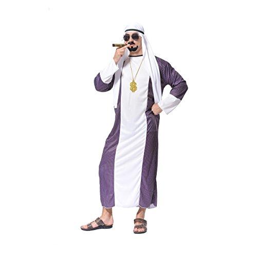 Sea Hare Erwachsener Männer Arabisch Sheik Arabian - Arabische Kostüm Männer