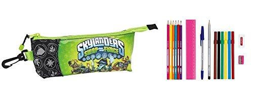 Safta Skylanders Swap Force - Trousse à Crayons, 17-teilig; Vert; 20 cm X 8 cm X 5 cm; 811409708