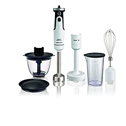 Morphy Richards Pro Set Total Control 650-Watt Hand Blender (White)