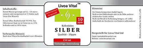 Kolloidales Silber 10ppm/250ml - 2