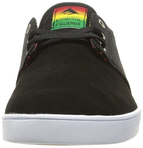 Emerica - The Figueroa, Scarpe Da Skateboard da uomo Black/yellow/black