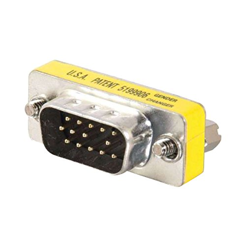 Cables To Go C2G 20686 HD15 VGA M/M Mini Gender Changer (Coupler) -