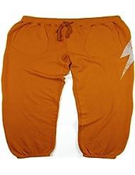 L.Bolt City Fleece Pantalones de Chándal, Hombre, Marrón, M