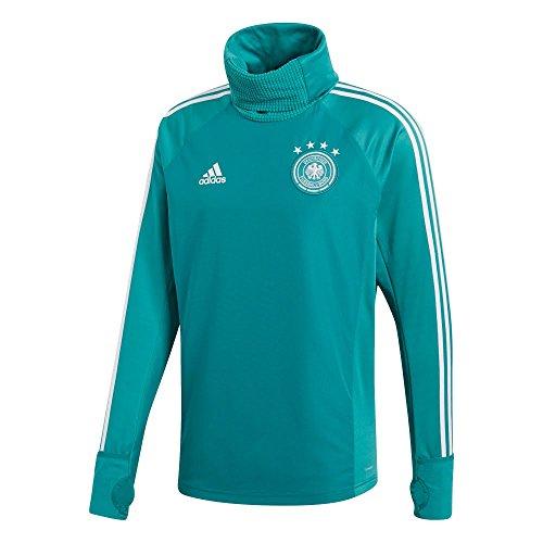 Adidas Selección Alemana de Fútbol Sudadera, Hombre, Verde (Eqtver/Blanco), XL