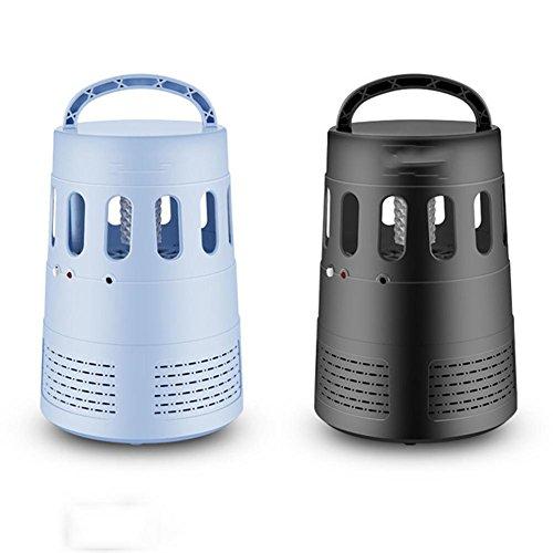 LED Photokatalysator Intelligent Saugart Klassisch strahlungsfrei Moskito-Mücken-/Mückenschutz-/Fallenmoskitolampe Leise, Blue