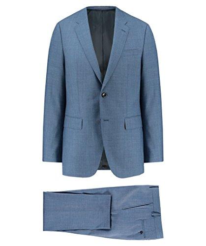 Tommy Hilfiger Herren Anzug blau (296) 50 (Mit Einreiher Zwei-knopf-blazer)