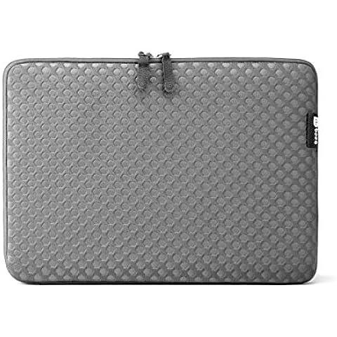 Booq Taipan Spacesuit 15 Gray - Funda neopreno para Apple MacBook Pro Unibody/ Retina15