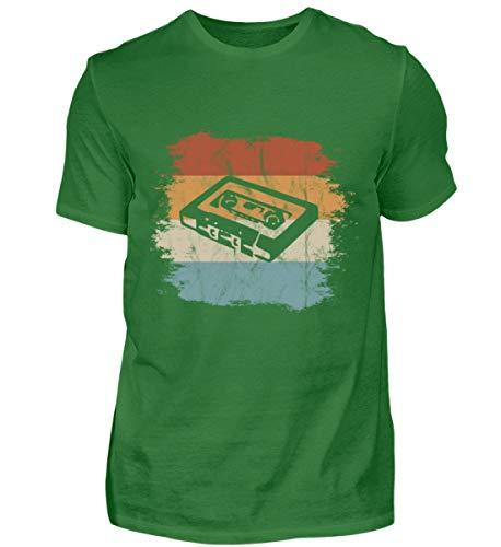 Mixtape Kassette Retro Vintage Style - Für alle, die die alte Zeit lieben und vermissen - Herren Shirt -XXL-Kelly Green - 70er-jahre-kelly-grün